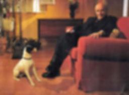 Perro actor para cine, televisión y publicidad