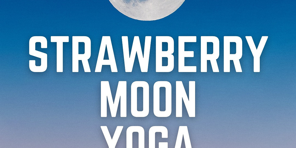Strawberry Moon Yoga @Lighthouse Beach with the CCC