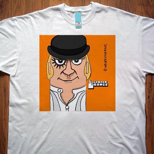 Blokwork Orange T-Shirt