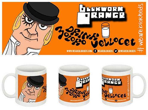 Blokwork Orange Mug