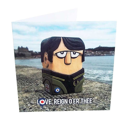 6. Jimmy The Mod Greeting Card