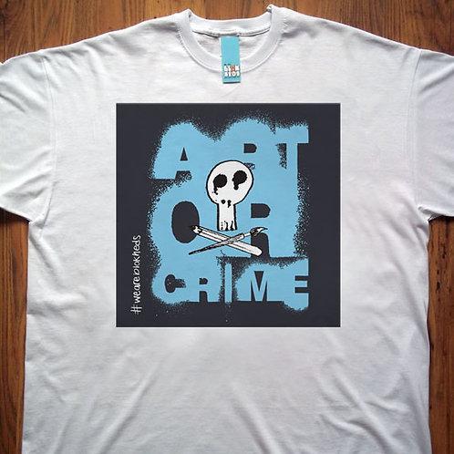 Art or Crime Grey Sq T-Shirt
