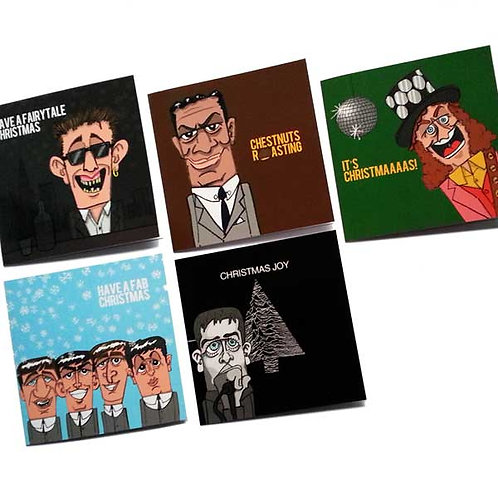 Pack of 5 Xmas Cards