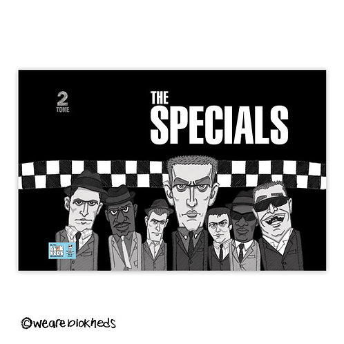 "The Specials Giclée Print 17"" x 11"""