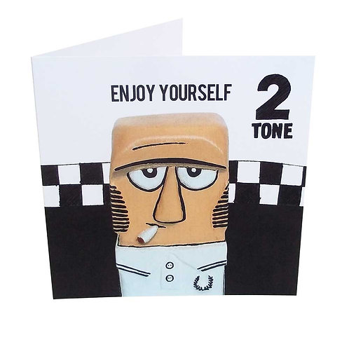 3. Sid The Skin Greeting Card