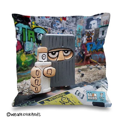 Graffiti Hed Cushion