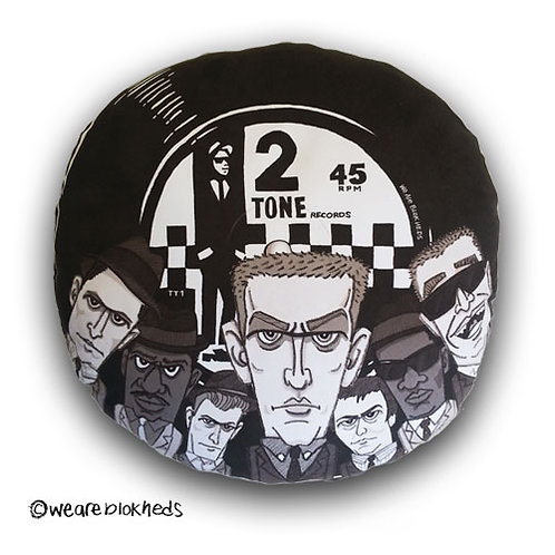Specials 2Tone Record Cushion