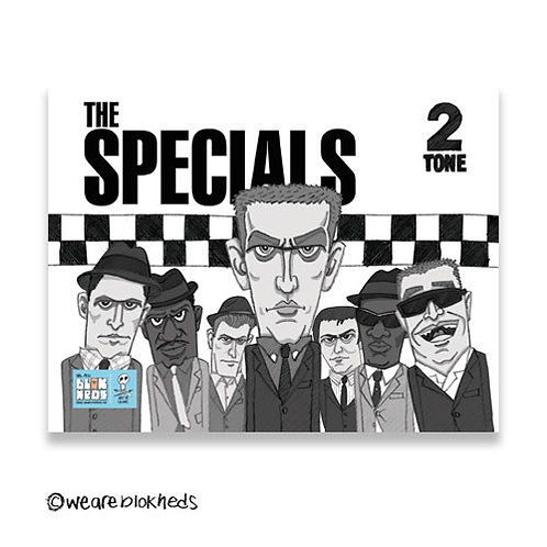 Specials Fridge Postcard Magnet