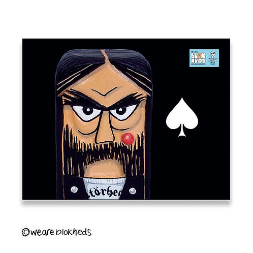 Lemmy Fridge Postcard Magnet