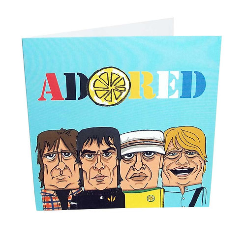 5. Adored Greeting Card