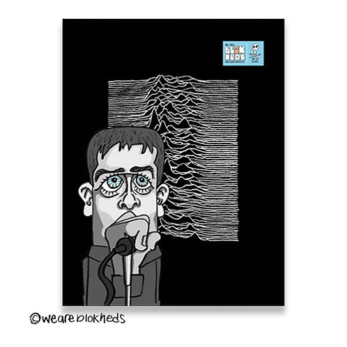 Joy Division Fridge Postcard Magnet