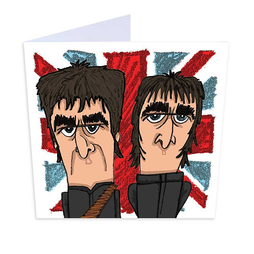 Oasis Greeting Card