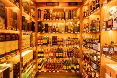 Caddy Bay Custom Whiskey Shelves