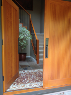 Front Entryway renovation