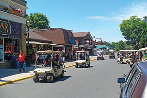 Downtown Put-in-Bay, Ohio