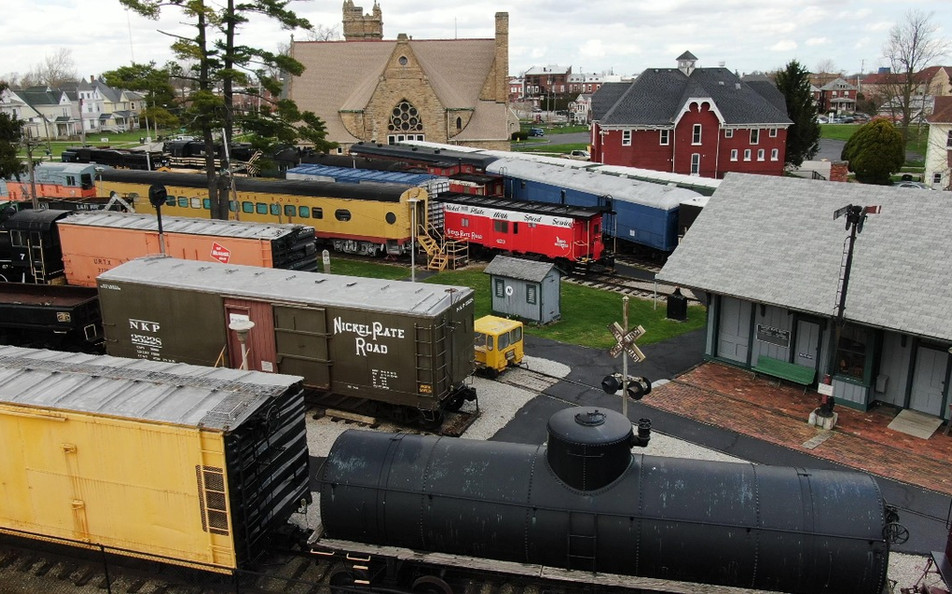 Mad River Museum Train Station