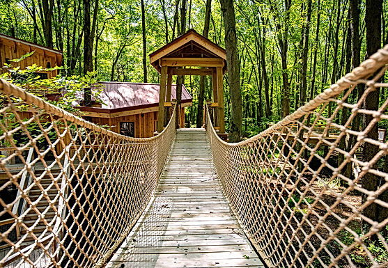 Metroparks Toledo's Cannaley Treehouse Village