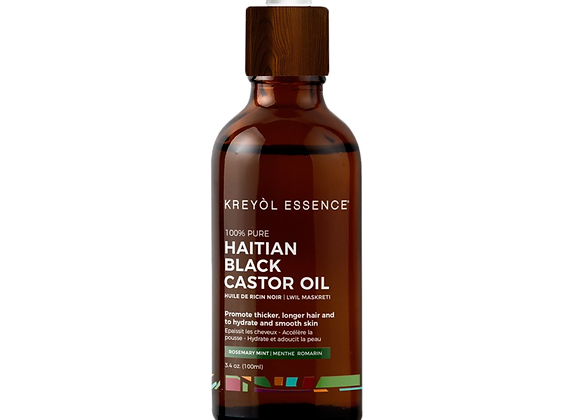 Haitian Black Castor Oil - Rosemary Mint