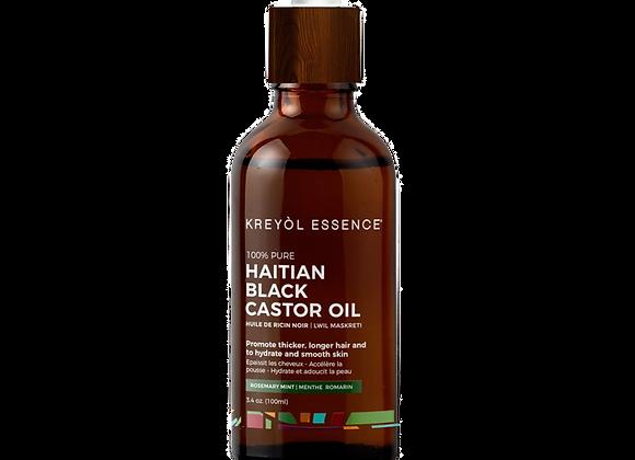 Haitian Black Castor Oil - Rosemary Mint