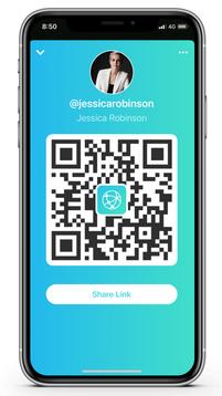 Share QR code