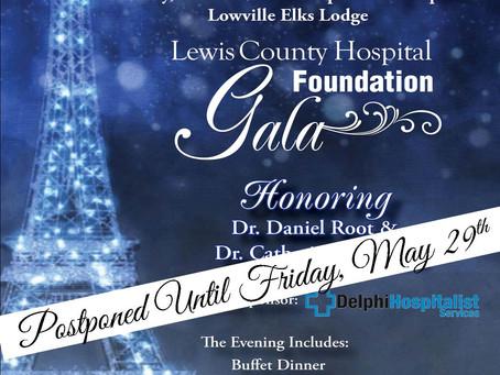 Hospital Foundation Gala Postponed