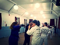 Training at Cobham CKD