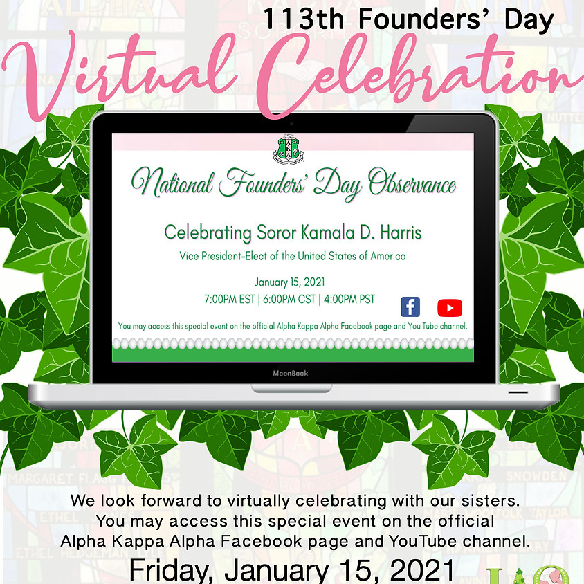 113th Founders' Day Virtual Celebration