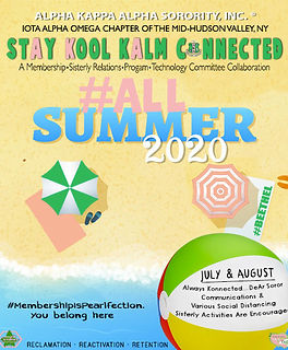 AKA - StAy Kool KAlm Connected (July-Aug