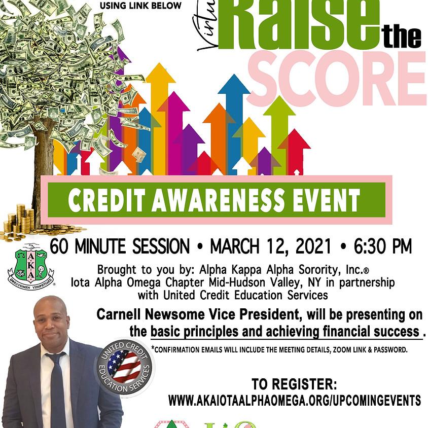 Raise the Score: Credit Awareness Event