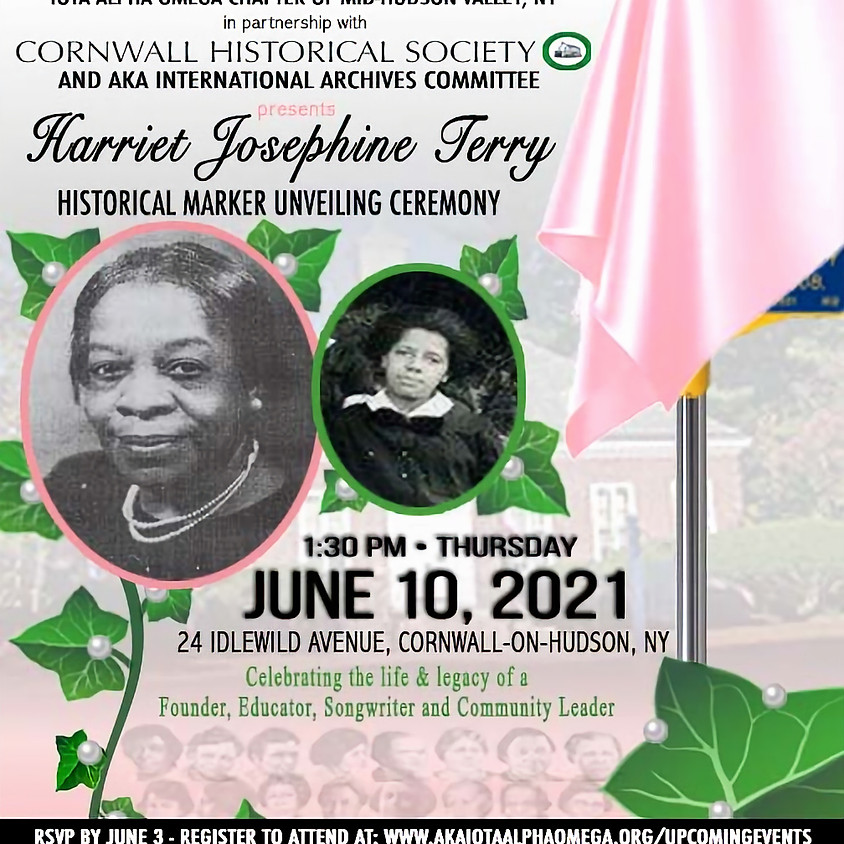 Unveiling Ceremony for Harriet J. Terry Historical Marker