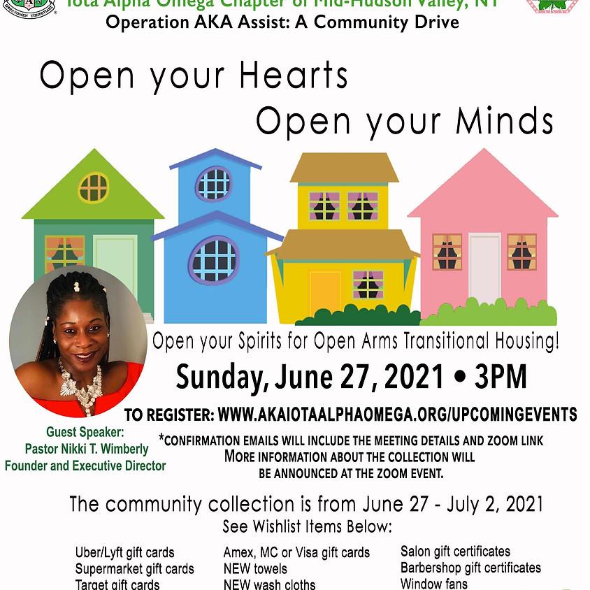 Operation AKA Assist:  A Community Drive