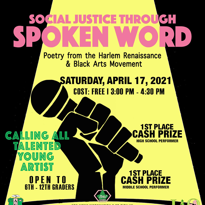 Social Justice through Spoken Word
