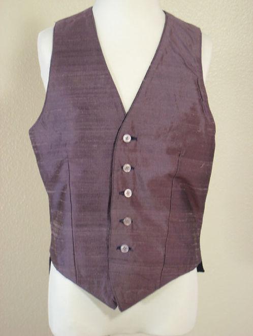 Custom Purple/Blue Silk Reversible - Size 10