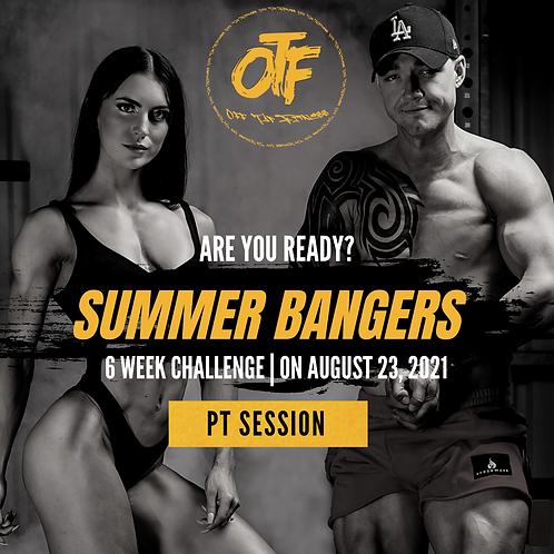 Summer Bangers - 6WK Challenge - PT Session