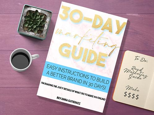 30-Day Marketing Strategy