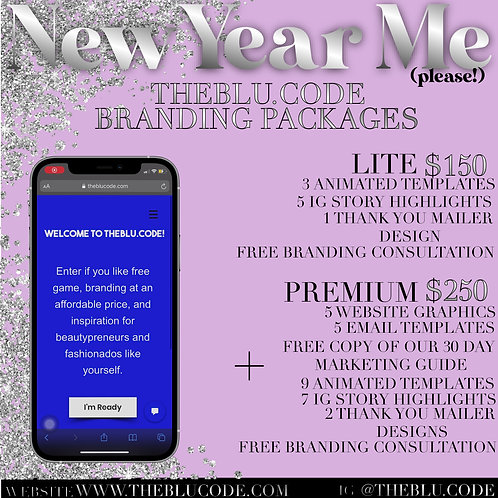New Year Me PREMIUM Package