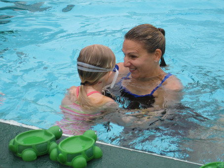 Positive Swimming Teaching Methods