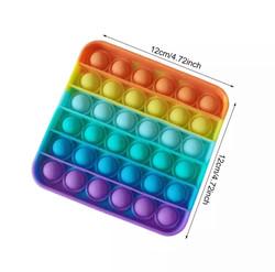 Rainbow popit