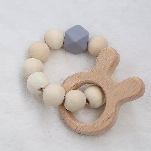 Beechwood Bunny teething ring