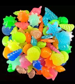 Glowing shells