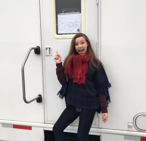 Go Behind-the-Scenes of Sophia's New Movie!