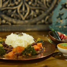 Tikka Masala grönsaksgryta