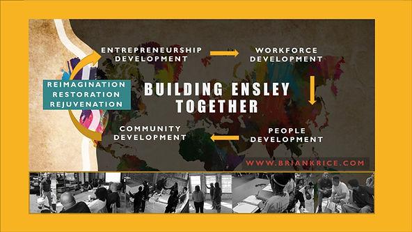 Brian K. Rice, Building Ensley Together,