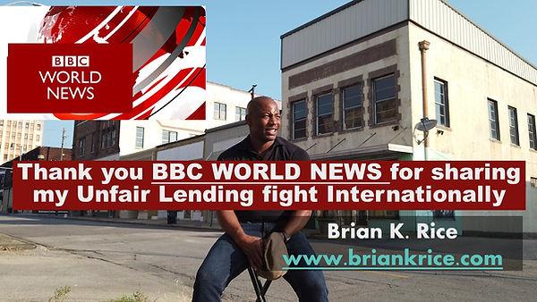 BBC World News, Brian K Rice, Ensley, Iv