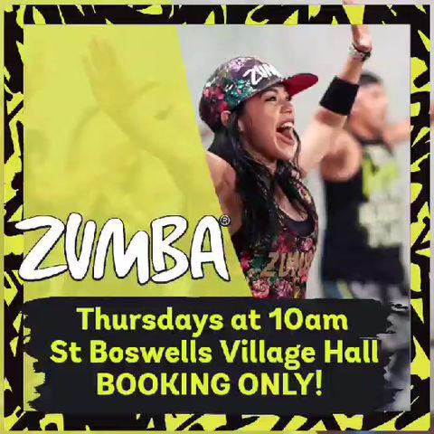 Thursday Zumba Spaces!