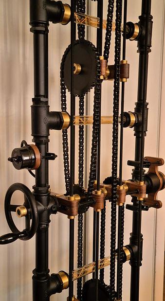 Le lampadaire FACT-Ladder en fonctionnement en détail.