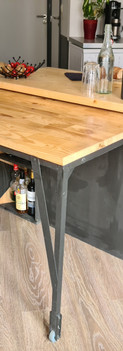 Table escamotable
