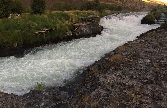 Deschutes River- Falls