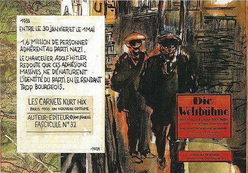 Les Carnets Kurt Hix - Fascicule 32 (eBook)