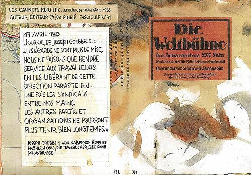 Les Carnets Kurt Hix - Fascicule 31 (eBook)